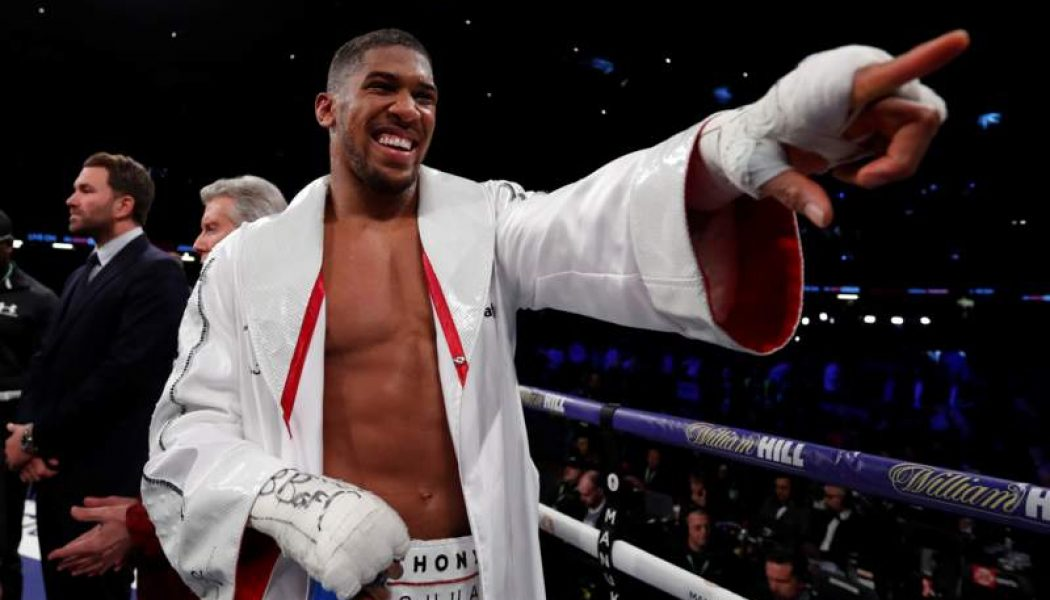 Anthony Joshua Triumphs In Cardiff Against Joseph Parker….!