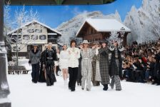 """It's Like Walking In A Painting"" – Karl Lagerfeld's Words When Describing His Last Beautiful Chanel AW 19 Collection…"