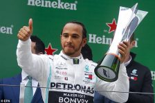 Many Congratulations To Lewis Hamilton Who Has Triumphed At The Chinese Grand Prix…!