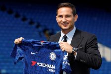 Frank Lampard Gives Post-Match Interview Following Chelsea vs Valencia Match