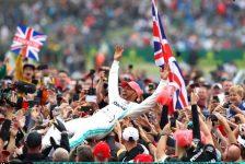 Lewis Hamilton Triumphs At The British Grand Prix