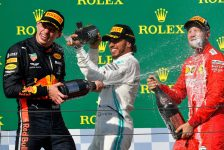 Lewis Hamilton Wins The Hungarian Grand Prix After Exciting Duel With Max Verstappen…!