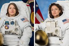 One Giant Leap For Womankind…!  NASA Astronauts Christina Koch and Jessica Meir Complete First All-Female Spacewalk…!