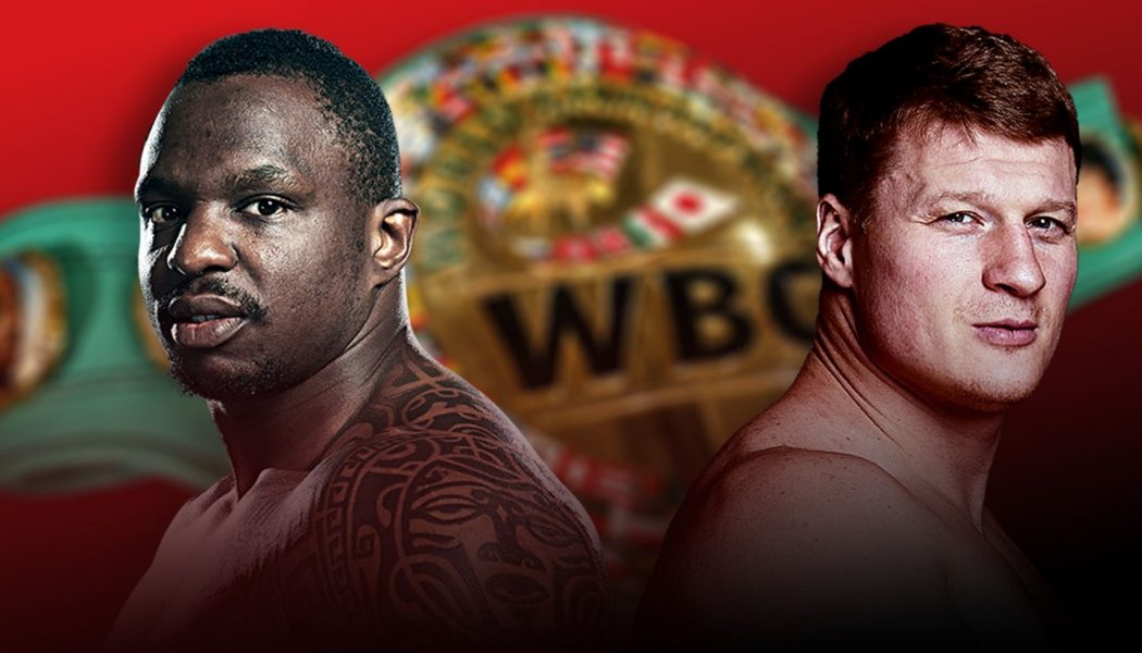 Another Chance To Look Back At The Dillian Whyte vs Alexander Povetkin Boxing Match, Essex, England, 22 August 2020…