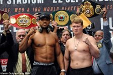 Another Chance To See The Exciting Fight Between Anthony Joshua And Alexander Povetkin…!