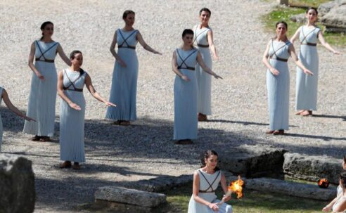 Beijing 2022 Olympics Flame Lighting Ceremony